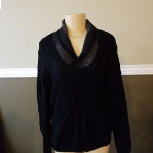 Calvin Klein knitted sweater euc
